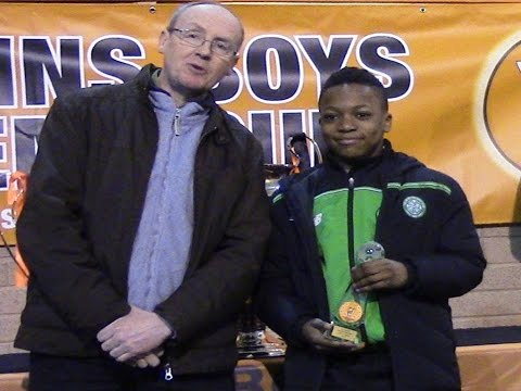 Karamoko Dembele Celtic FC - Academy Cup Player of Tournament