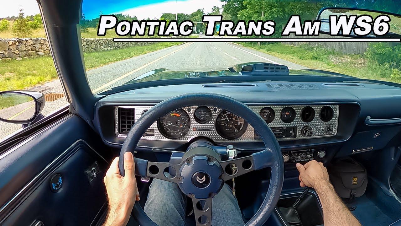 1981 Pontiac Firebird Trans Am WS6 - 400hp Crate Engine Muscle Car (POV Binaural Audio)