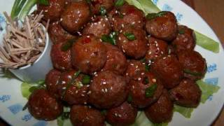 Asian Party Meatballs