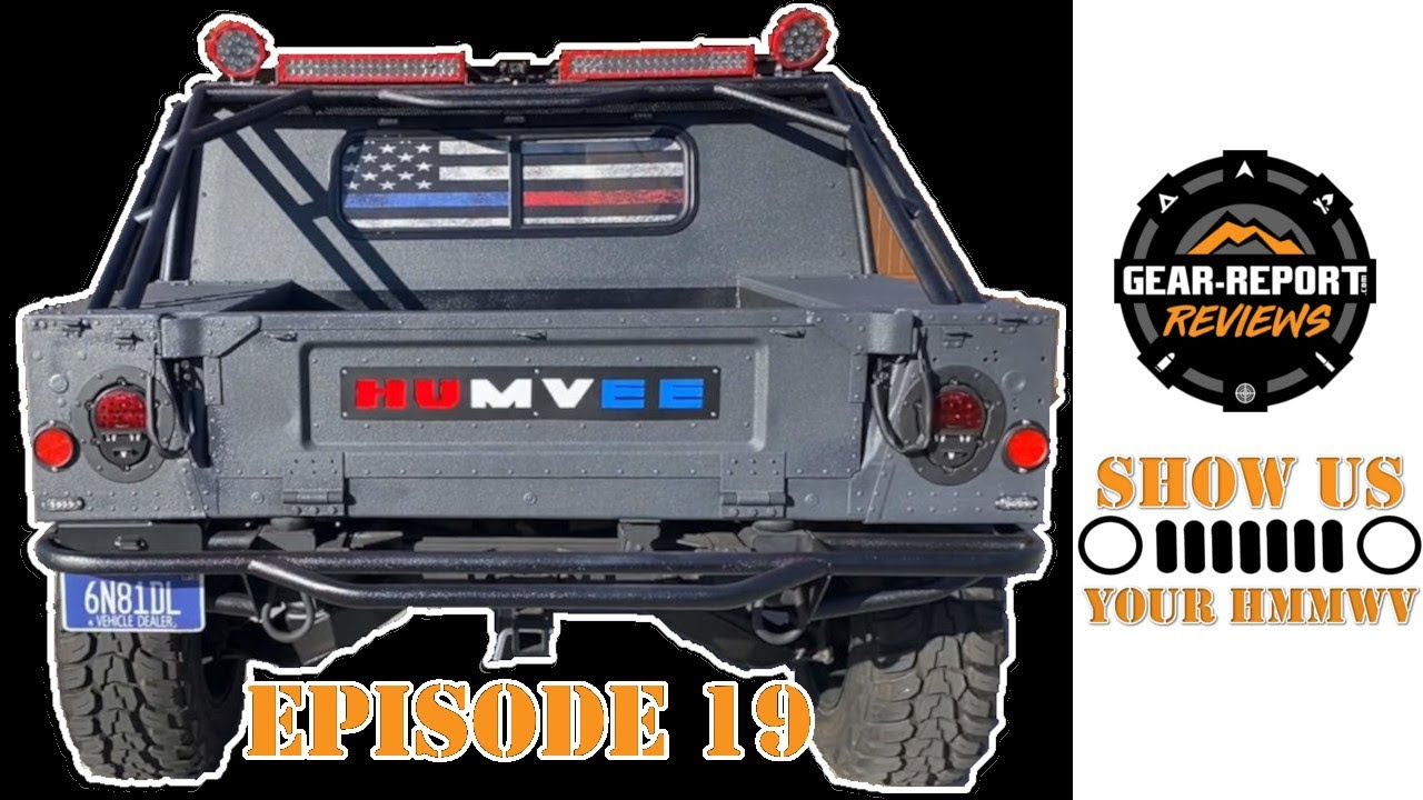 Show us YOUR HMMWV! Episode 19 - Patriotic HMMWV M1123, Battlewagon 3 M1165A1 HMMWV, M998 Humvee