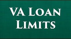 VA loan limits