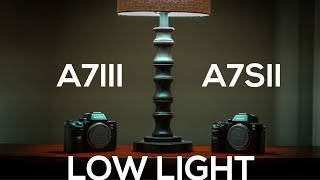 A7III vs A7SII in LOW LIGHT + Best SONY Low Light Picture Profile - 4K