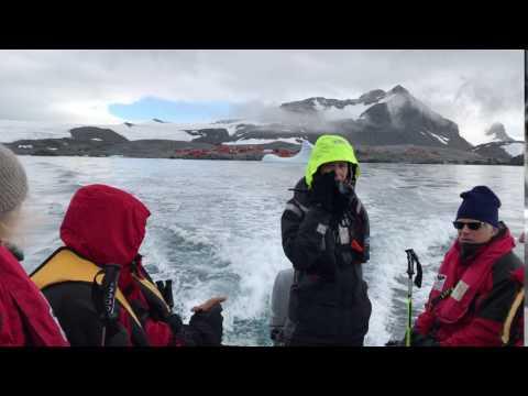 Esperanza Base, Fortín Sargento Cabral, Antarctica Zodiac