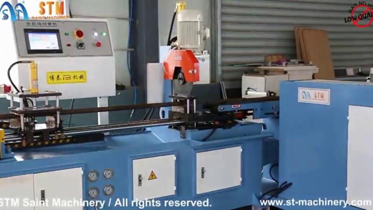 Automatic Pipe Cutting Machine ~ Automatic pipe cutting machine cold saw tube sawing