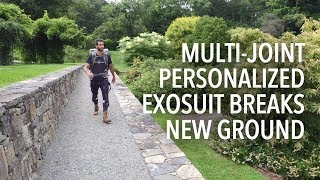 Multi-joint Personalized Exosuit Breaks New Ground thumbnail