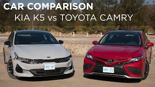 Kia K5 vs Toyota Camry | Car C…