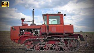 ДТ-175 Волгарь - самый быстрый советский гусеничный трактор. Обзор