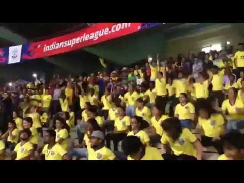 Top 5 fans celebration - Indian Super League (ISL)