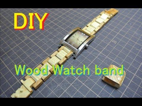 DIY Wood watch band Part1