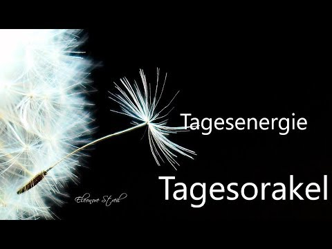 Tagesorakel - Donnerstag 04.07.2019