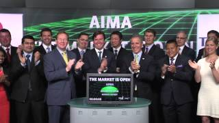 Alternative Investment Management Association (AIMA) opens Toronto Stock Exchange, May 28, 2014