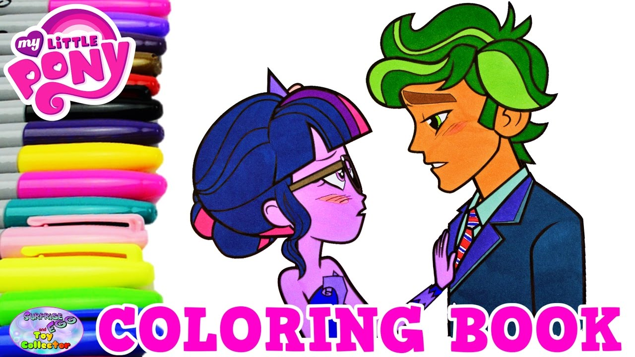 my little pony coloring book twilight sparkle timber episode