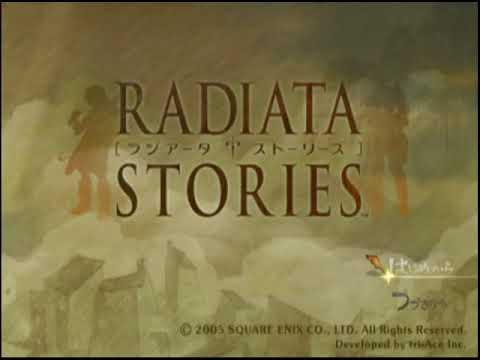 Radiata Stories Ntsc-J Both PCSX2 1.4.0 and ZD SSR7.0 at RTP Title Sequence