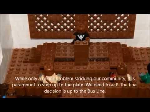 English Heritage Minute The Montgomery Bus Boycott, lego Video