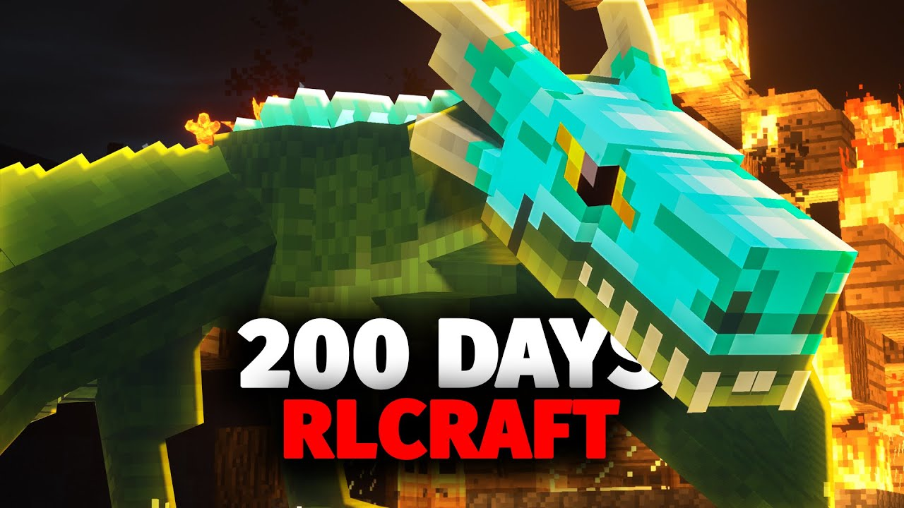 I Spent 200 Days in RLCraft and Here's What Happened