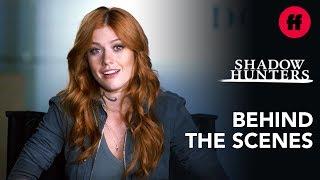 Clace Go Ice Skating | Shadowhunters Behind the Scenes: Season 3, Episode 14 | Freeform