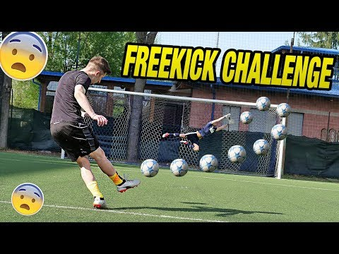 Free Kick CHALLENGE - I2BOMBER Diventano PORTIERI ??