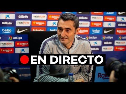 🔴 EN DIRECTO [UCL]: Ernesto Valverde previo al Barça - Tottenham Hotspur