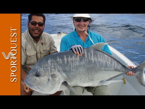 GT Fishing Christmas Island, real adrenaline fueled fun non-stop action