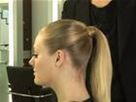 How To Make A Perfect Ponytail Youtube