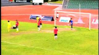 UFL Division 1 Highlights: February 18, 2012, Global FC vs. Stallions FC