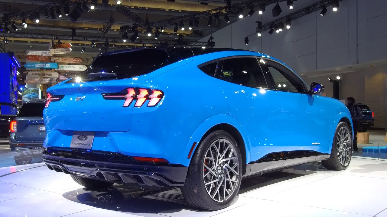2020 Ford Mustang Mach E 0 To 60 Time