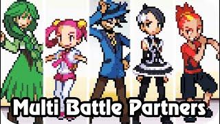 Pokémon Platinum - All Stat Trainers Battles (Battleground)