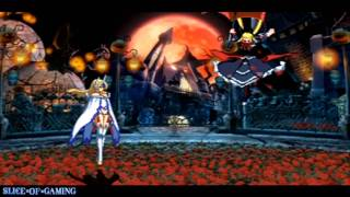 Slice of Gaming - BlazBlue: Continuum Shift II (PSP) Mu-12 Arcade Run (Full)