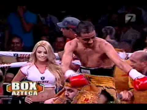 "Giovani ""Guerrero Azteca"" Segura Vs Ivan ""Iron Man"" Calderon Round 3"