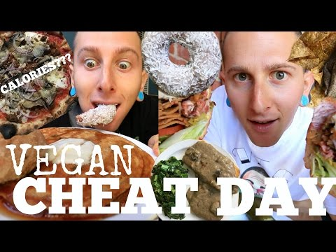 The ULTIMATE VEGAN CHEAT DAY🍕(7,000+cals🍪Junk Food🍦)