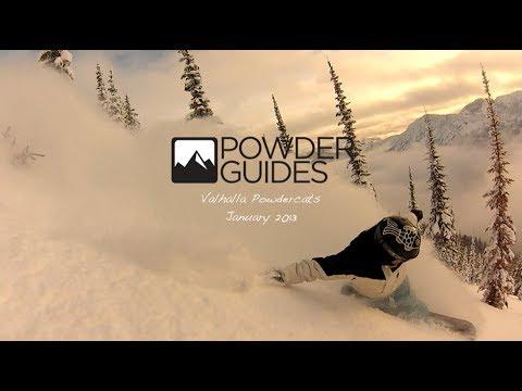 Catskiing : Catskiing Canada at Valhalla Powder Snowcats