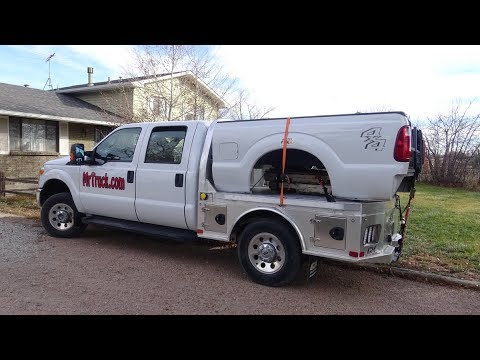 Cm Truck Beds Factory Review And Install Aluminum Flatbed Youtube