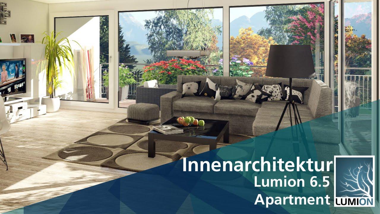 innenarchitektur - apartment | lumion 6.5 - youtube, Innenarchitektur ideen