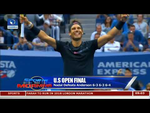 Nadal Wins U.S Open Title For The Third Time | Sports This Morning |