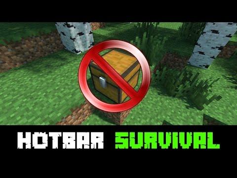 Minecraft Hotbar Survival Returns - A Beacon And A Device