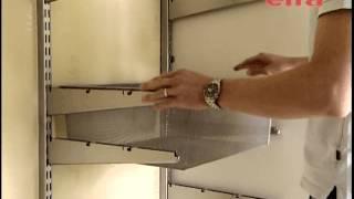 видео Модульные металлические шкафы для одежды