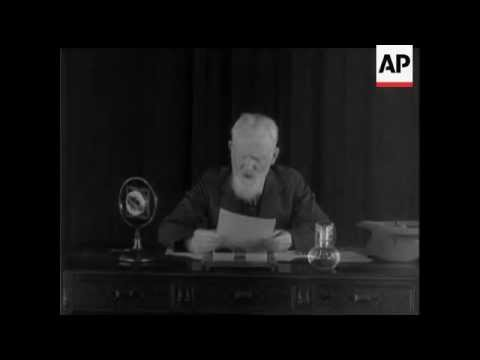 George Bernard Shaw Interview - 1937