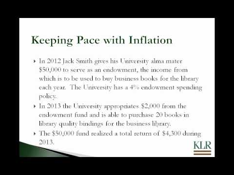 Nonprofit Accounting & Reporting for Endowments.avi