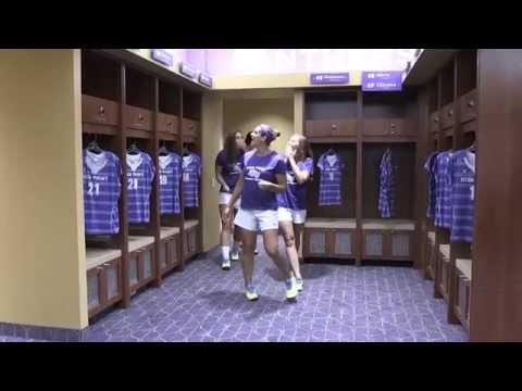 Witcher Athletic Center: Women's soccer locker room reveal