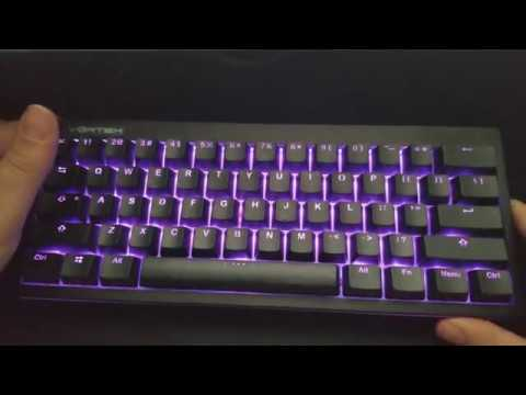 Pok3r RGB LE (Limited Edition) quick look