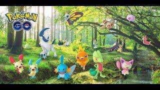 Pokémon go Spoofing Australia Treecko Generation 3