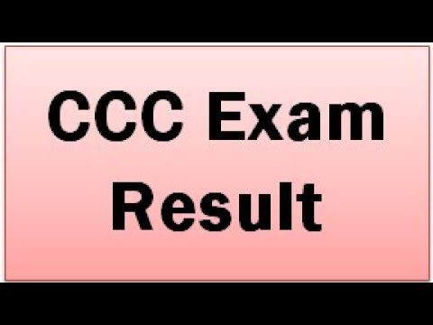 79f1a265360 CCC Exam Result September/October 2018 - CCC CCC+ BCC Result Exam Month  Wise Result