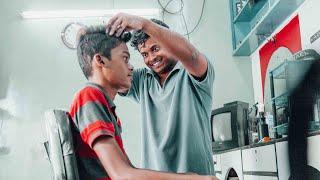 Indian Barber Head Massage ASMR (Nomad Barber)