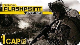 OPERATION FLASHPOINT 2 | COOPERATIVO | DRAGON RISING Misión 1 | EN ESPAÑOL (1080p HD) Gameplay