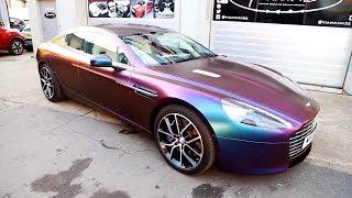 Aston Martin wrapped CHAMELEON STYLE!!!