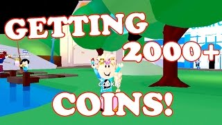 Roblox / GETTING 2000+ COINS!!! / Meep City / GamingwithPawesomeTV