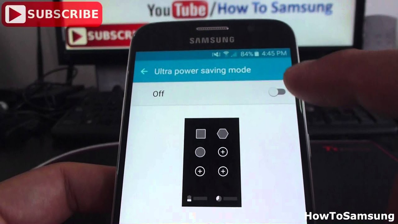 how to use ultra power saving mode on samsung galaxy s6 basic tutorials youtube. Black Bedroom Furniture Sets. Home Design Ideas