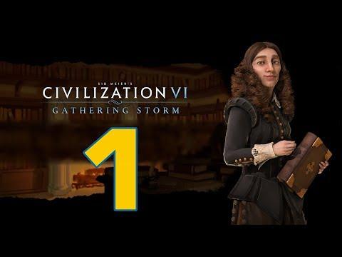 Прохождение Civilization 6: Gathering Storm #1 - К - Культура! [Швеция - Божество]