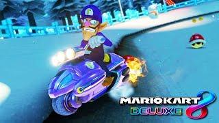MARIO KART 8 DELUXE: ¡LA COMBINACIÓN DE WALUIGI! | Nintendo Switch