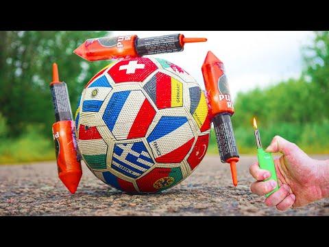 Experiment: Rockets XXL vs Soccer Ball